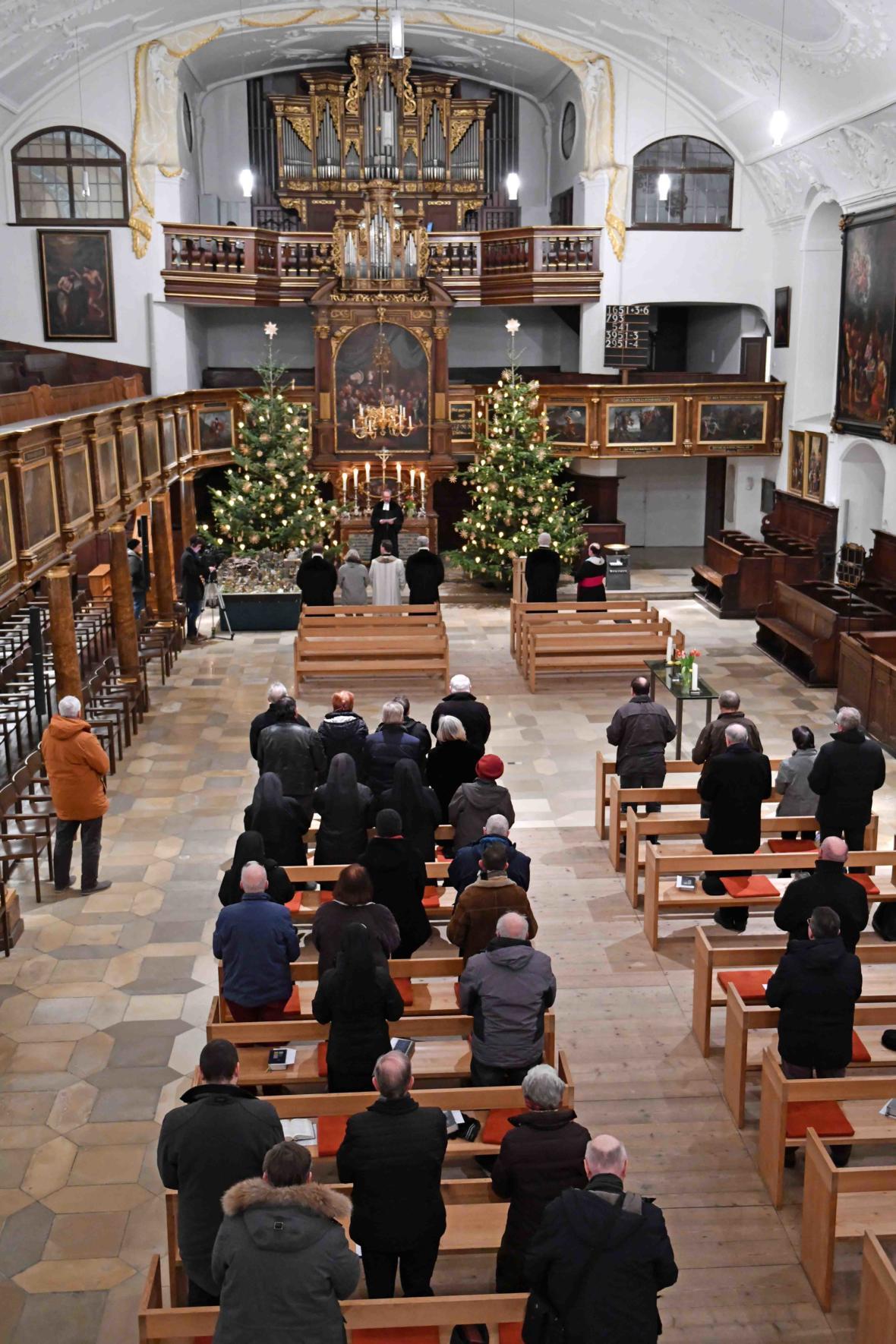 Ökumenischer Gottesdienst in ev. St. Ulrich (Foto Nicolas Schnall_pba)