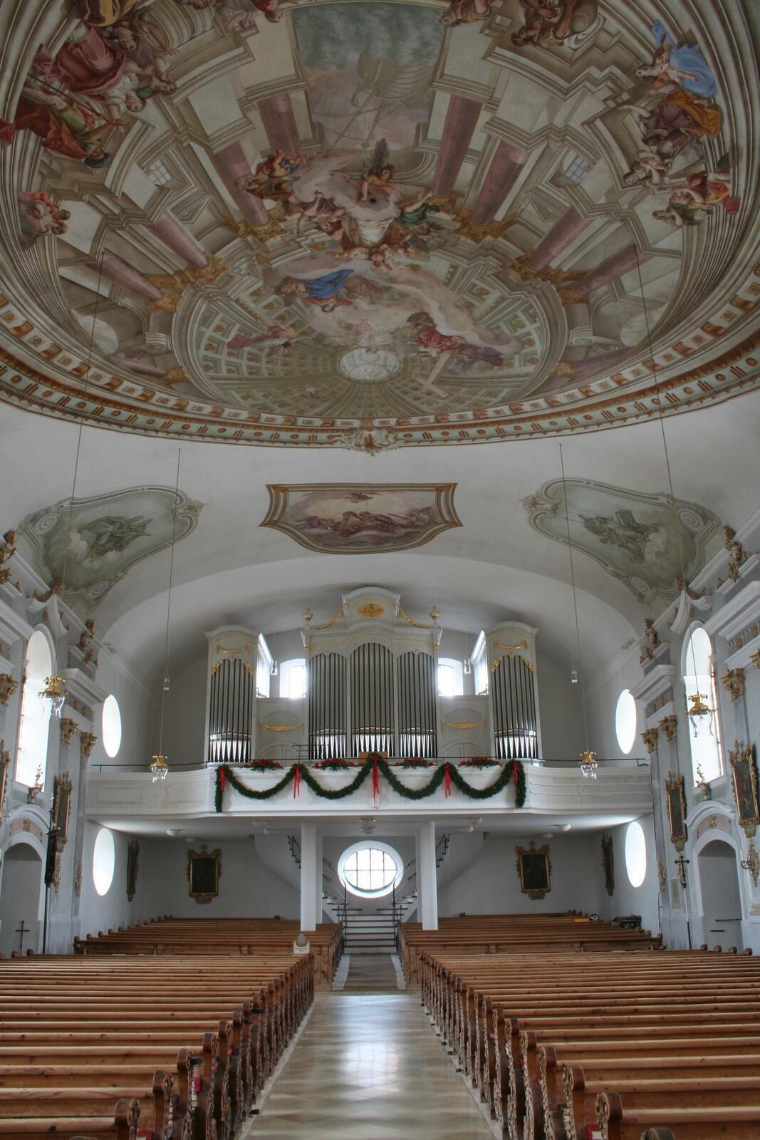 Orgel Pfronten St Nikolaus