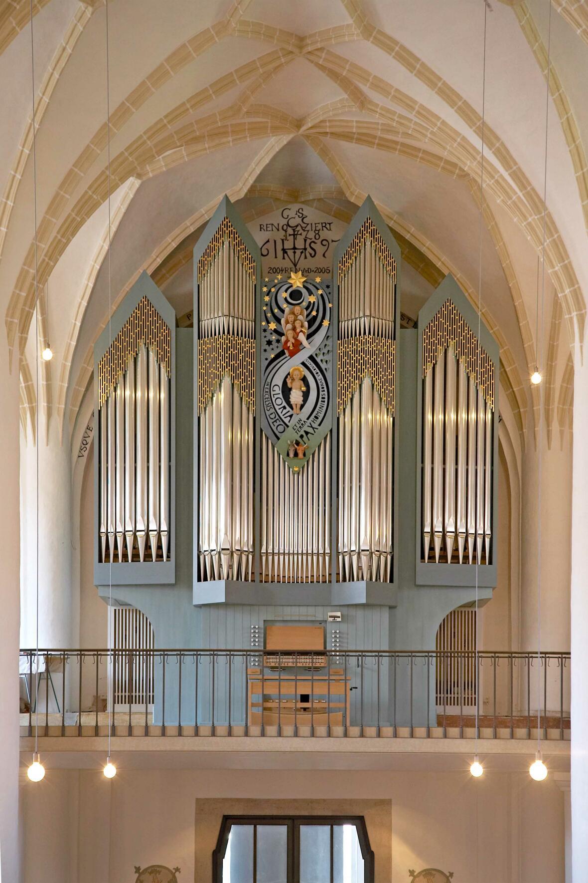 Orgel Schrobenhausen St. Jakobus maj.