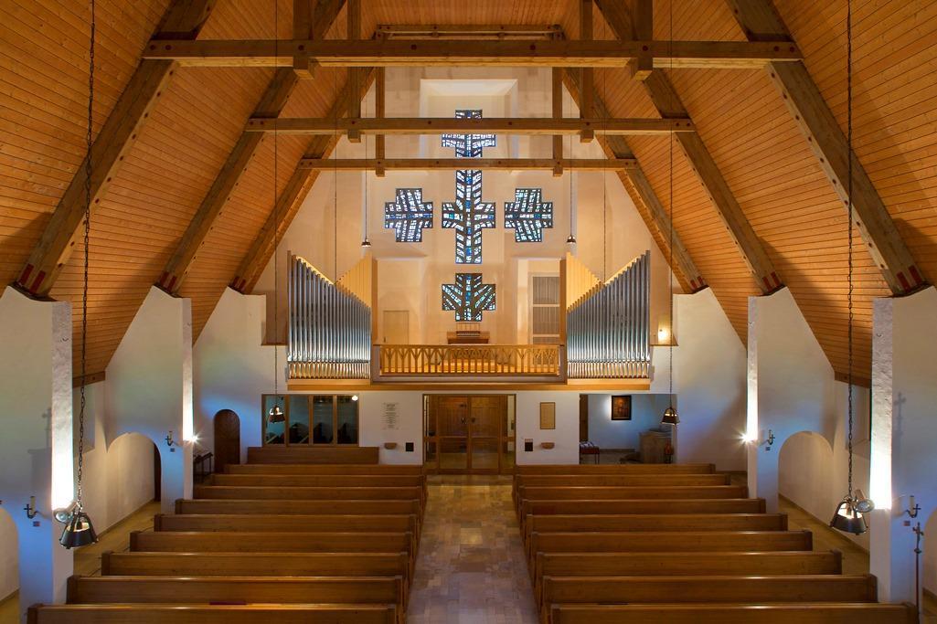 Orgelempore           Foto:Reinhard Eisele