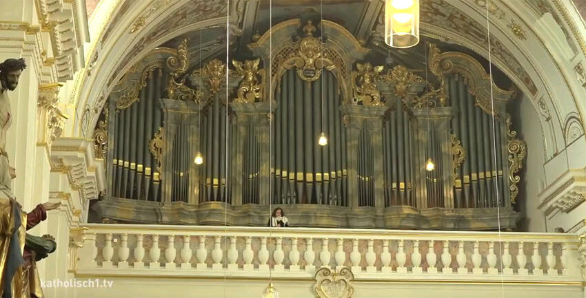 Orgelweihe in Kempten (katholisch1.tv)