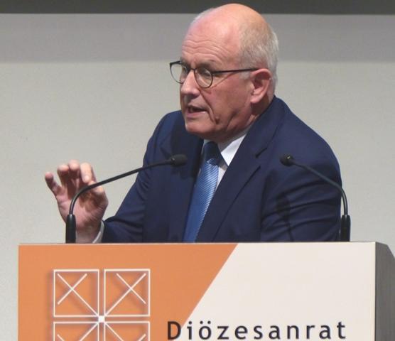 Permanentes Engagement für Religionsfreiheit: Volker Kauder, Vorsitzender der CDU/CSU-Bundestagsfraktion. (Foto: Beate Dieterle)