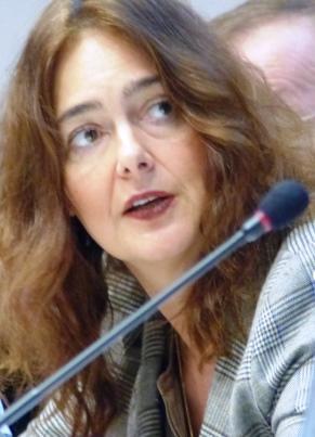 Beleuchtete die Rolle und Möglichkeiten der Medien: Michaela Koller, Journalistin und Referentin für Religionsfreiheit der Internationalen Gesellschaft für Menschenrechte (IGFM).
