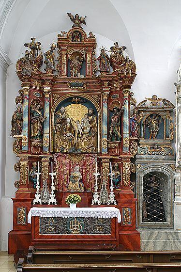 Anna-Altar, Pfarrkirche Haldenwang
