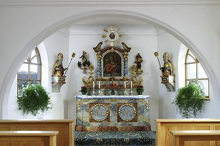 Kapelle in Fleschützen