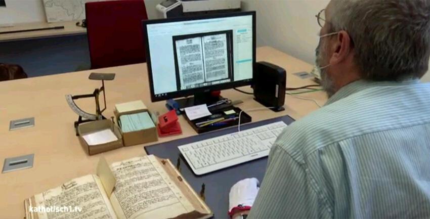Pfarrmatrikeln digital (katholisch1.tv)