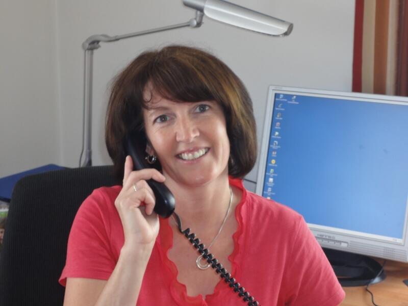 Pfarrsekretärin Ingrid Kretschmer (800x600)