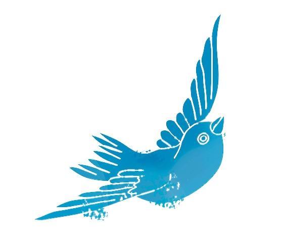 PGR-Wahl 2014 Vogel blau