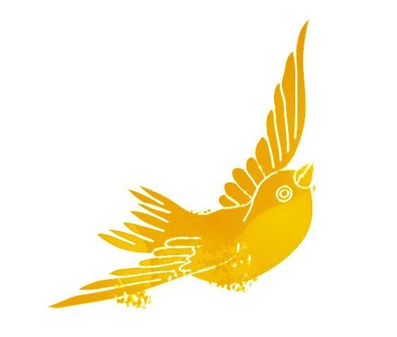 PGR-Wahl 2014 Vogel gelb