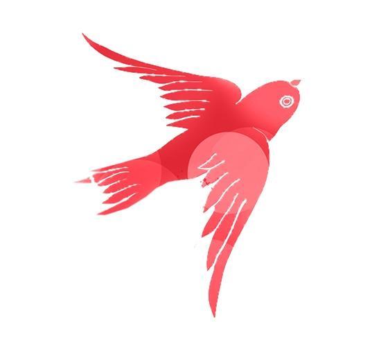 PGR-Wahl 2014 Vogel rot
