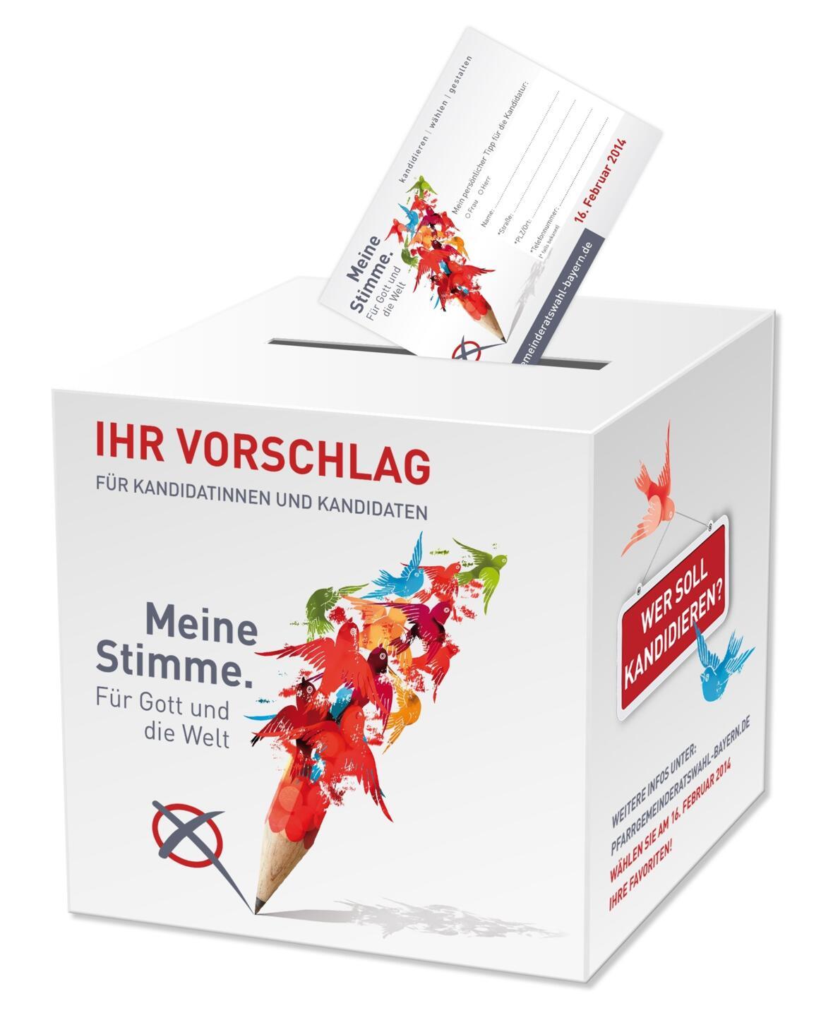 PGR-Wahl Kandidatenbox