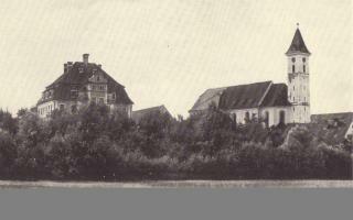 Schloß und Kirche Offingen, Foto: Historischer Verein Günzburg e.V