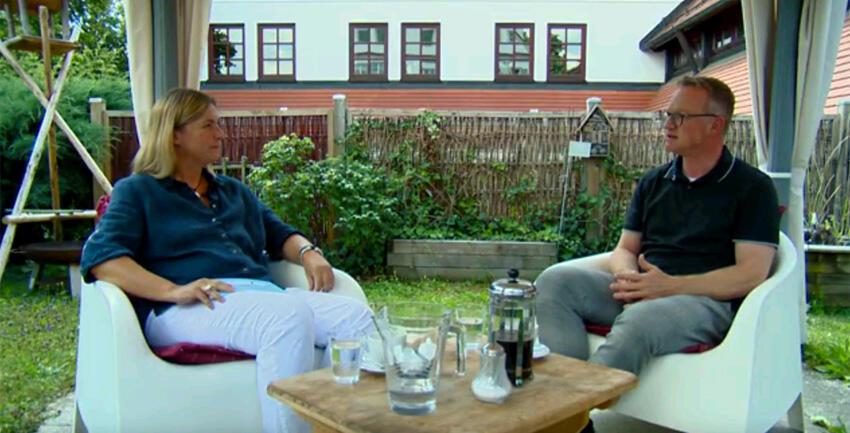 Sommerplaudereien mit Wallfahrtspfarrer Thomas Pfefferer (katholisch1.tv)