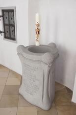 Taufstein Legau