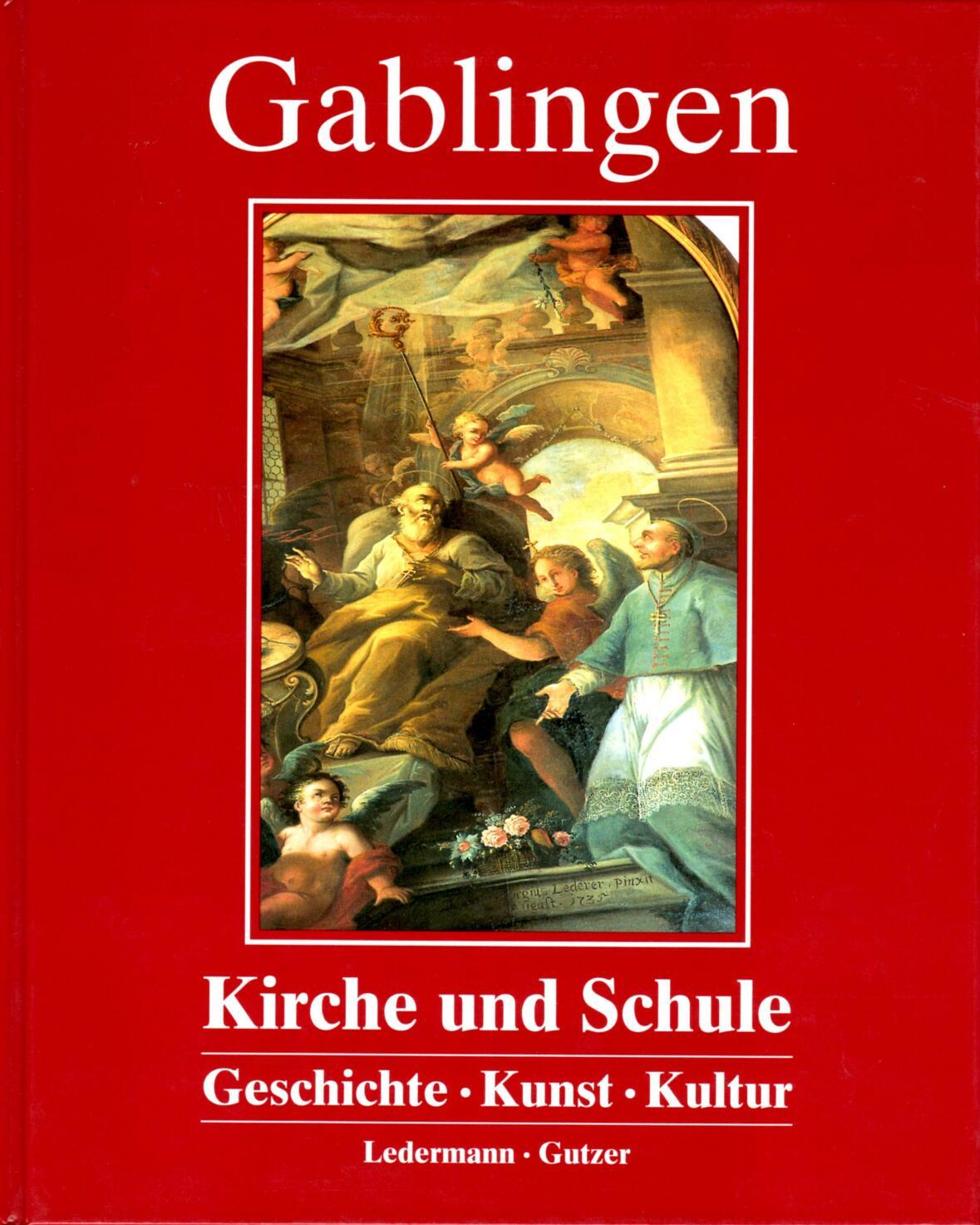 Buch_Gablingen Kirche und Schule