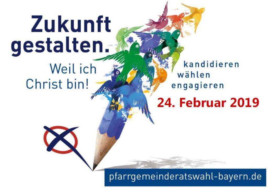 Plakat klein für Nachwahl mit Termin 2019-02-24