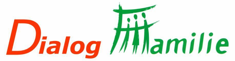 Logo Dialog Familie - Entwurf Geschäftsstelle - ohne rand