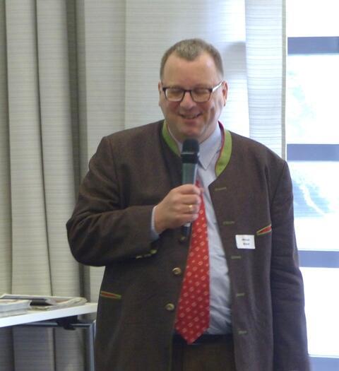 stv. Vorsitzender Michael Brandt, Moderation
