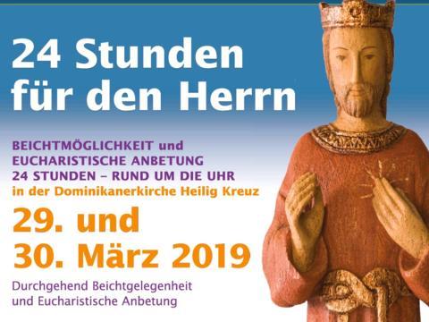 7565e1c73e 24 Stunden für den Herrn in Heilig Kreuz - Bistum Augsburg
