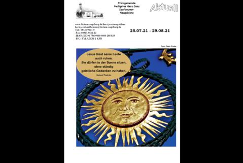 Gemeindebrief August 2021