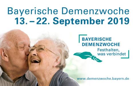 1. Bayerische Demenzwoche 13. - 22.9.2019