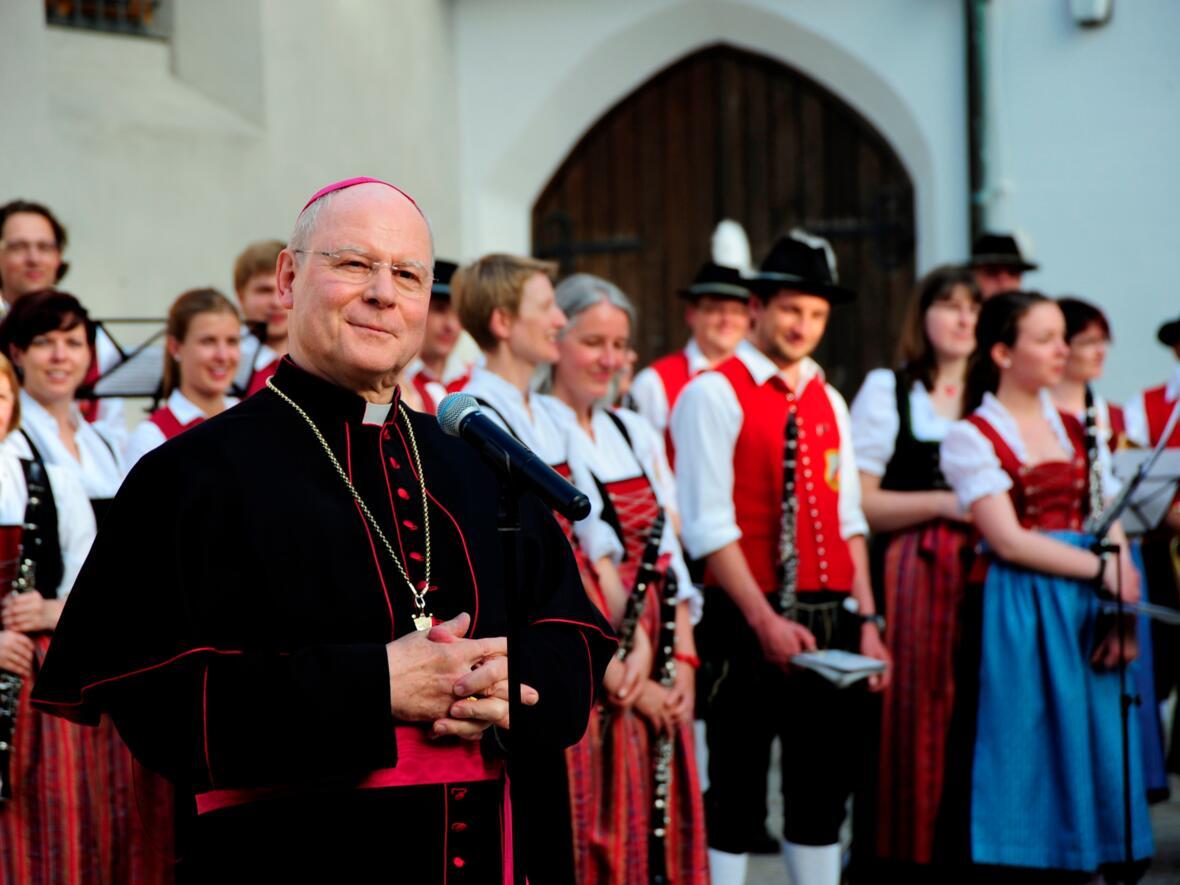 Bischof Konrad feiert seinen 70. Geburtstag. (Foto: pba/Nicolas Schnall)