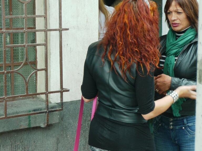 """Im """"Drop-In-Center"""" in Bogota finden Prostituierte und Drogenabhängige Zuflucht."""