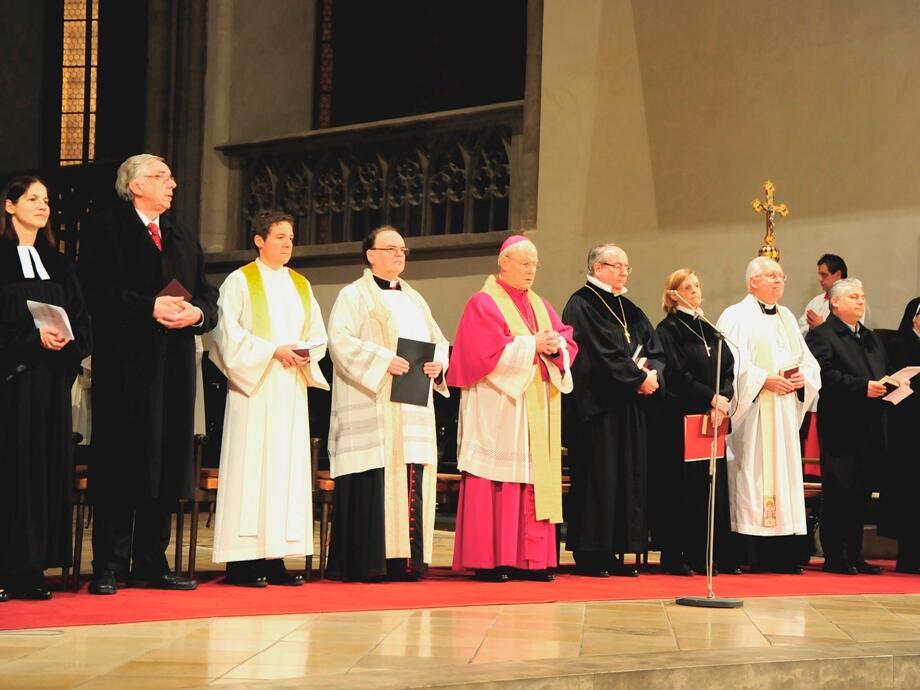 Das Gebet um die Einheit der Christen ist Bischof Konrad ein wichtiges Anliegen. (Foto: Nicolas Schnall)