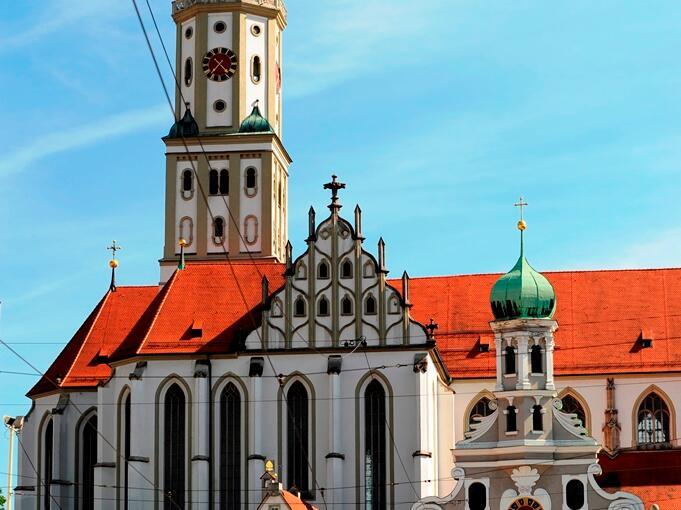 Basilika St. Ulrich und Afra. (Foto: Nicolas Schnall)