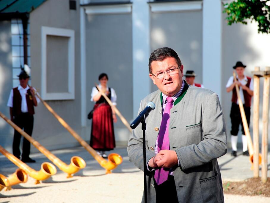 Präsident des Allgäu-Schwäbischen Musikbundes: Franz-Josef Pschierer. (Foto: Nicolas Schnall)