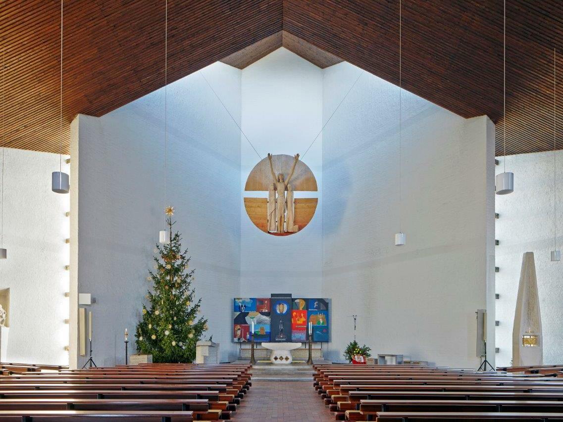Verklärung Christi, Schongau, Architekt: Friedrich Haindl (1963-1968) (Foto: Siegfried Wameser)