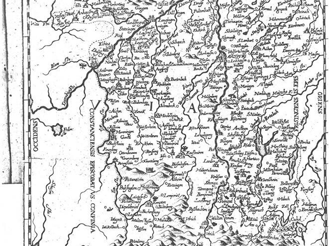 Von den 1.054 Pfarreien und 750 Benefizien sowie 61 männlichen und 37 weiblichen Stiften und Klöstern gingen durch den Westfälischen Frieden von 1648 164 Pfarreien, 273 Benefizien und 34 Klöster endgültig an die Reformation verloren. Unter den elf Reichsstädten blieb nur Schwäbisch Gmünd katholisch. In der Stadt Augsburg brachte die Einführung der Parität die Anerkennung des katholischen und evangelischen Bekenntnisses nebeneinander. (Bistumskarte 1647)