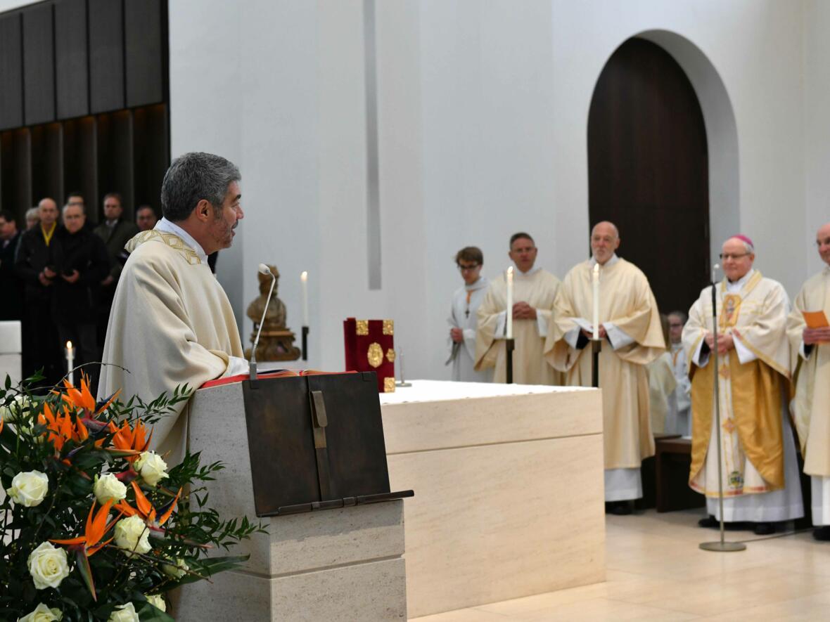 1000 Jahre Moritzkirche_Festgottesdienst mit Bischof Konrad (Foto Nicolas Schnall_pba) 02