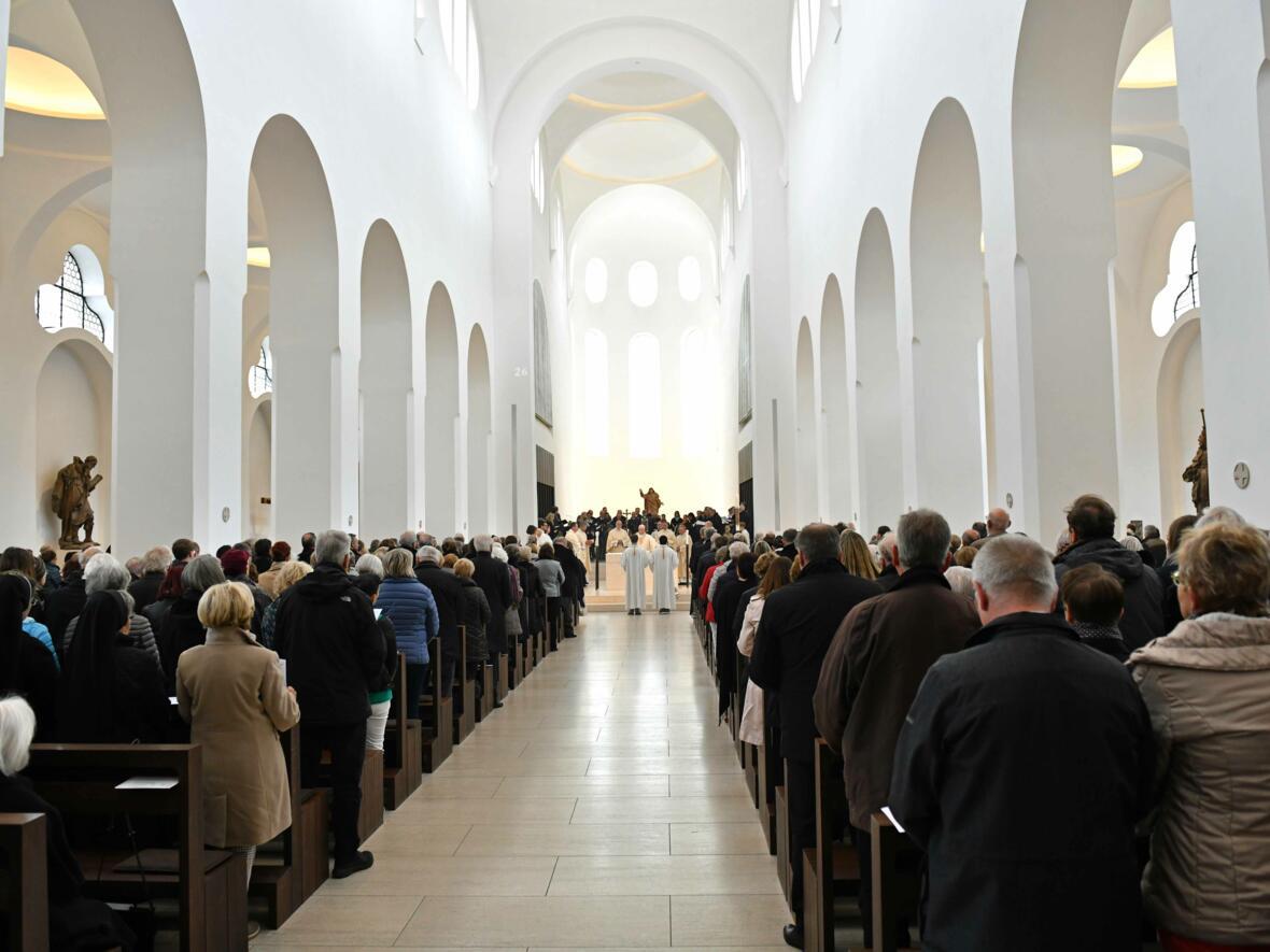 1000 Jahre Moritzkirche_Festgottesdienst mit Bischof Konrad (Foto Nicolas Schnall_pba) 07