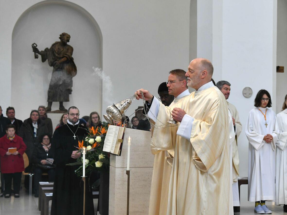 1000 Jahre Moritzkirche_Festgottesdienst mit Bischof Konrad (Foto Nicolas Schnall_pba) 09