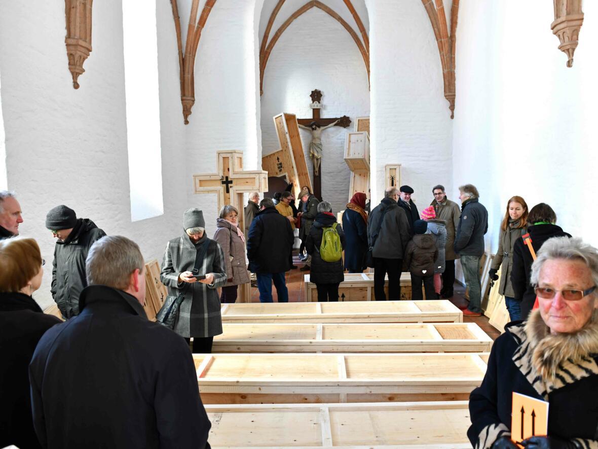 13 Aschermittwoch der Künstler_Ausstellungseröffnung_Kunstprojekt (Foto_Nicolas Schnall_pba) DSC_0400