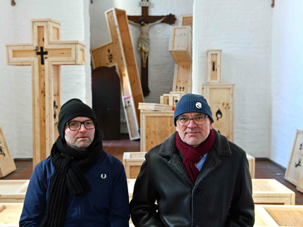 17 Aschermittwoch der Künstler_Ausstellungseröffnung_Kunstprojekt mit Künstler Thorsten Mühlbach und Bruno Wank (Foto_Nicolas Schnall_pba) DSC_0426