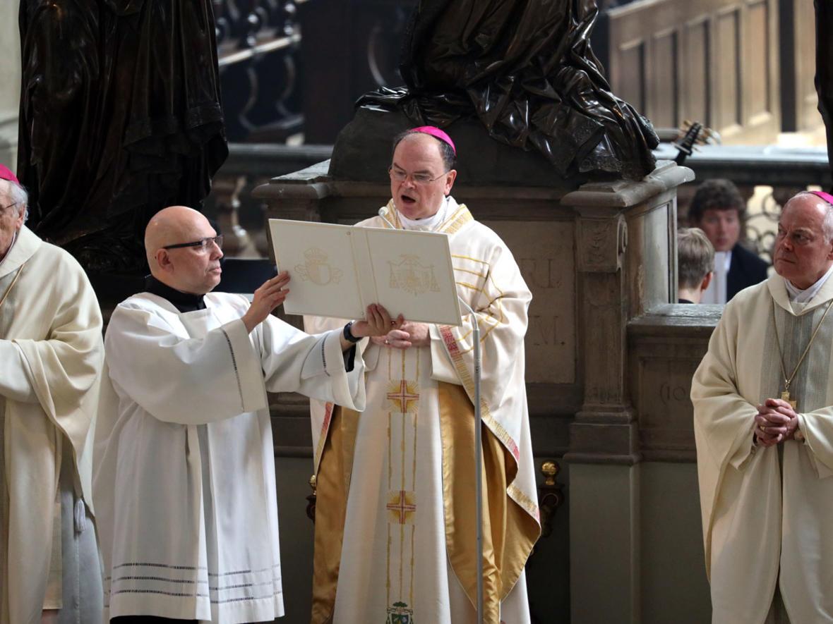 Ulrichshochamt mit Bischof Bertram (Foto: Annette Zoepf / pba) 5
