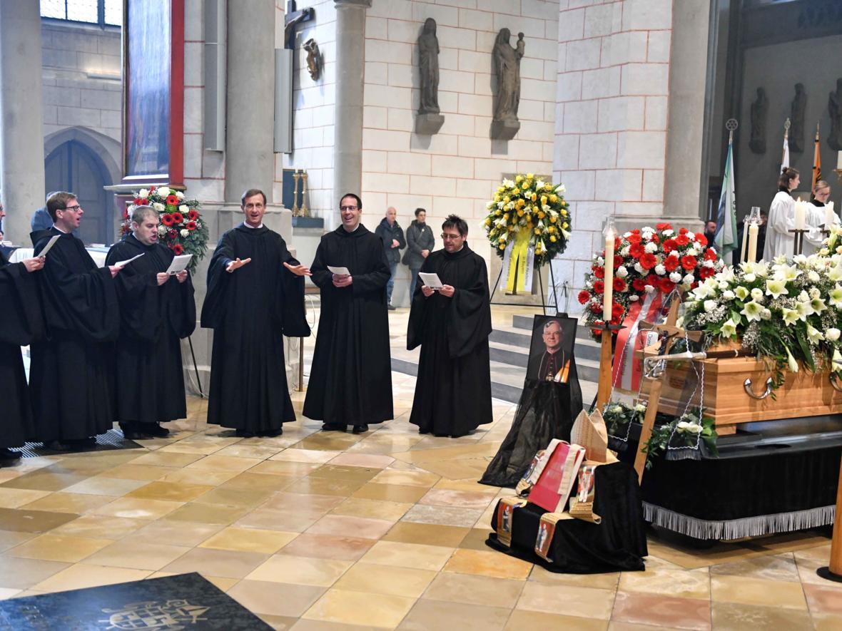 Begräbnisfeier für Bischof em Viktor Josef Dammertz (Foto Nicolas Schnall_pba) 12