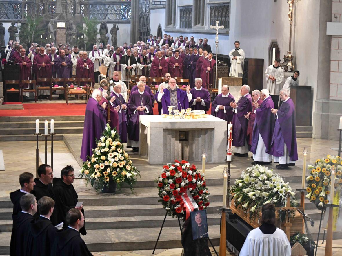 Begräbnisfeier für Bischof em Viktor Josef Dammertz (Foto Nicolas Schnall_pba) 13
