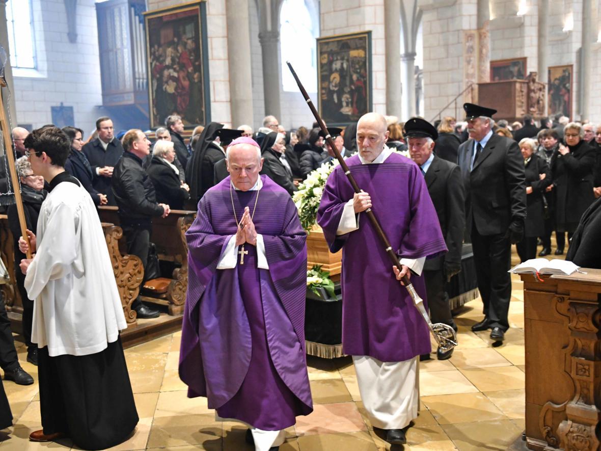 Begräbnisfeier für Bischof em Viktor Josef Dammertz (Foto Nicolas Schnall_pba) 15