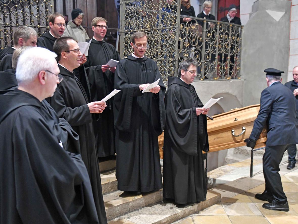 Begräbnisfeier für Bischof em Viktor Josef Dammertz (Foto Nicolas Schnall_pba) 16