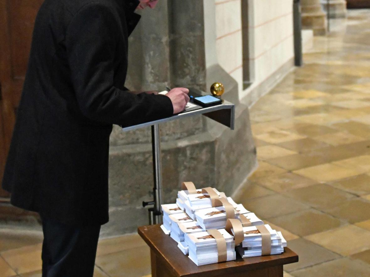 Begräbnisfeier für Bischof em Viktor Josef Dammertz (Foto Nicolas Schnall_pba) 19