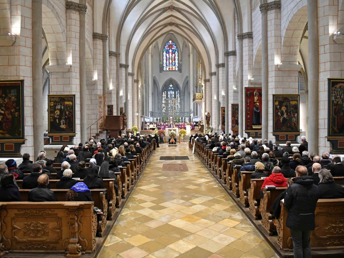 Begräbnisfeier für Bischof em Viktor Josef Dammertz (Foto Nicolas Schnall_pba) 7