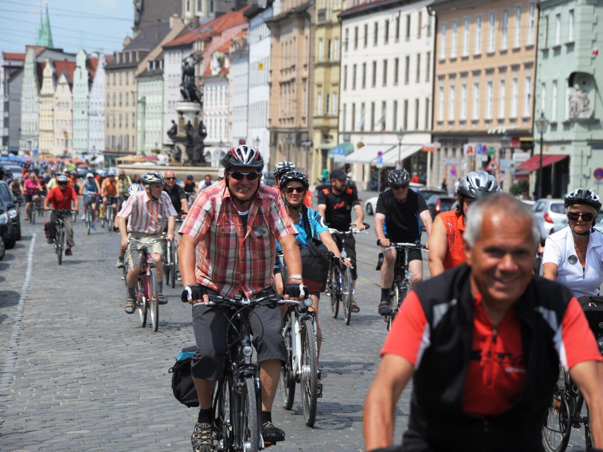 2013_07_06 Fahrradwallfahrt aus Donauwörth (Foto Nicolas Schnall_pba)