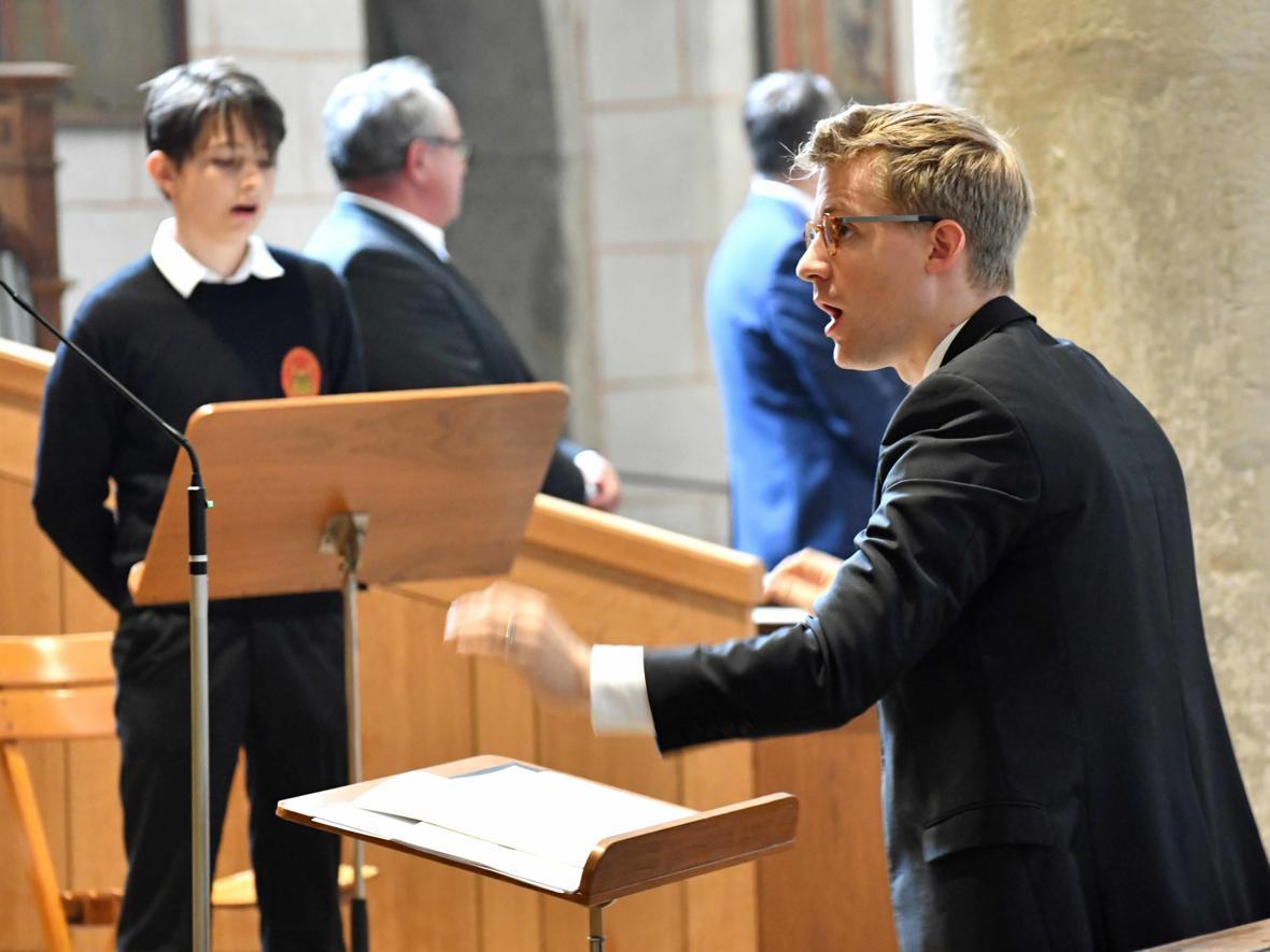 Priesterweihe 2020 im Hohen Dom zu Augsburg (Foto Nicolas Schnall_pba) DSC_4432