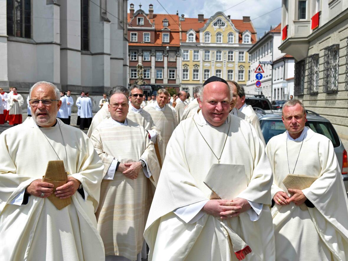 Dankgottesdienst zur Verabschiedung von Bischof Konrad (Foto Nicolas Schnall_pba) 1