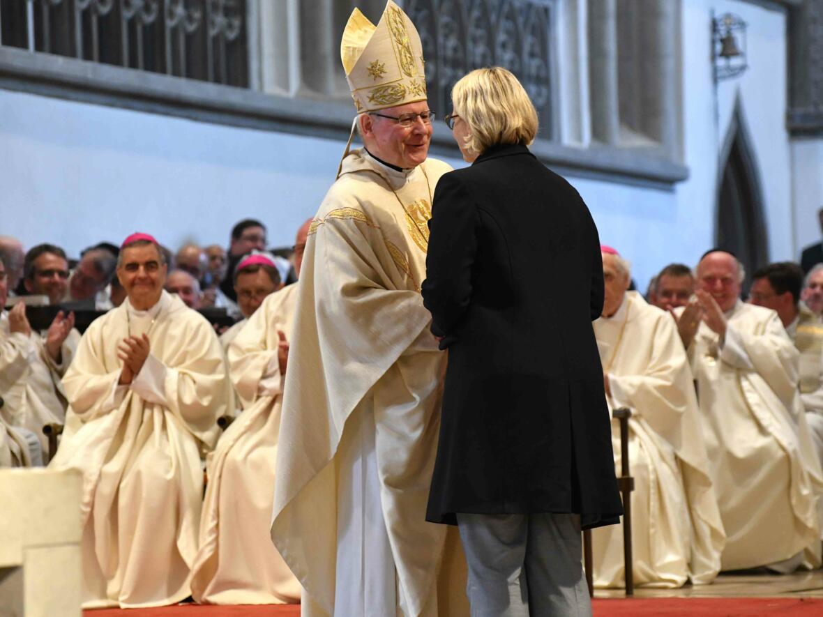 Dankgottesdienst zur Verabschiedung von Bischof Konrad (Foto Nicolas Schnall_pba) 11