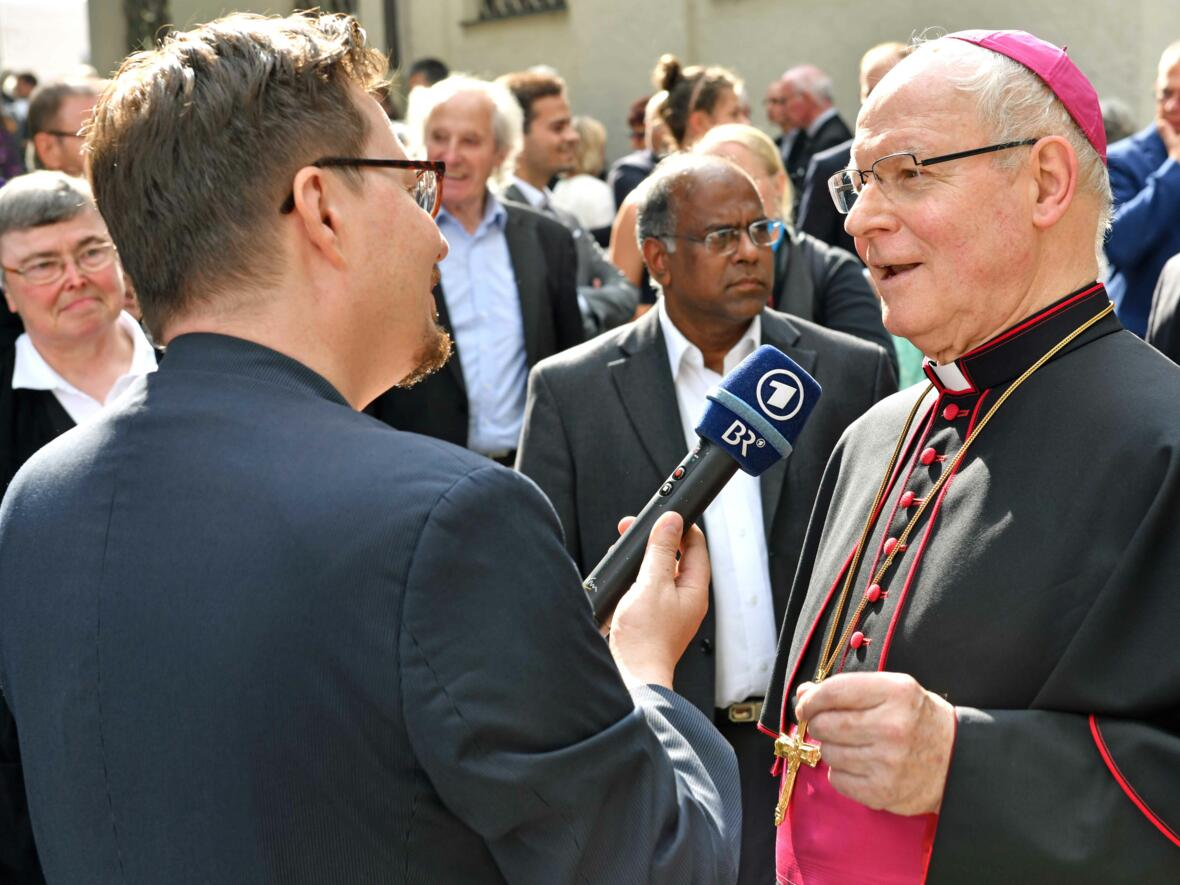 Dankgottesdienst zur Verabschiedung von Bischof Konrad (Foto Nicolas Schnall_pba) 19