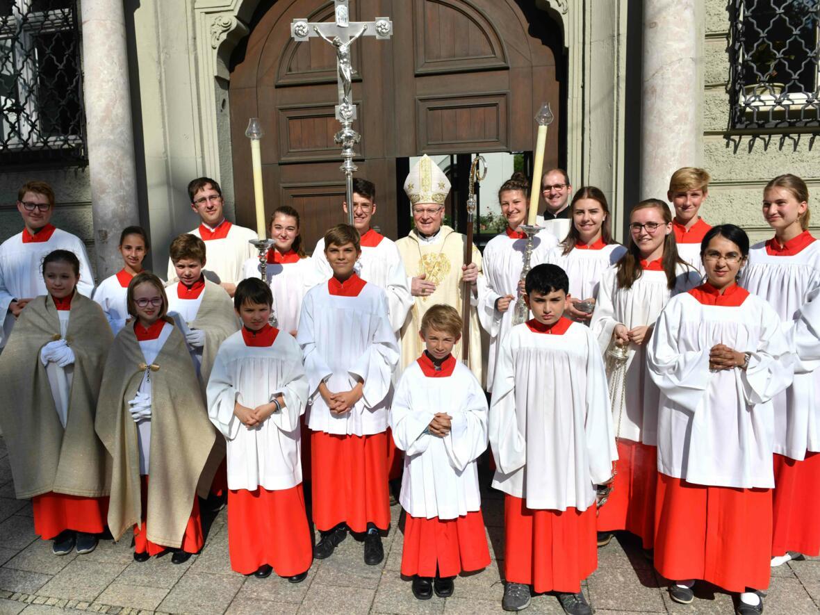 Dankgottesdienst zur Verabschiedung von Bischof Konrad (Foto Nicolas Schnall_pba) 20